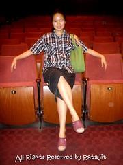 อาจารย์พราว อรุณรังสีเวชในโรงละครแห่งชาติ โรงใหญ่