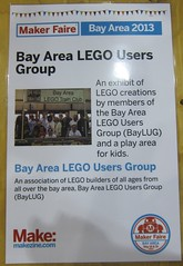 Makers Faire 2013 (01) (origamiguy1971) Tags: lego faire makers baylug 2013 bayltc esseltine