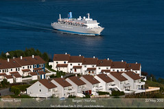 Thomson Spirit (Tom McNikon) Tags: cruise norway cruiseship bergen tui thomsonspirit thomsoncruises tuitravel