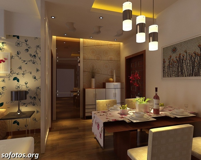 Salas de jantar decoradas (98)
