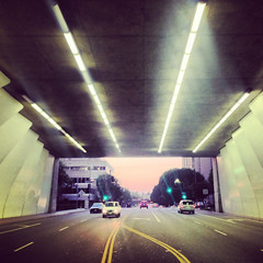 Second Street Tunnel (Hal Bergman Photography) Tags: phonecam losangeles phone tunnel dtla iphone 2ndstreettunnel instagram