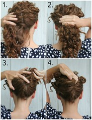 how to do a french twist.jpg (KristinaJ.) Tags: diy tutorial hairstylepicmonkeyappeditor