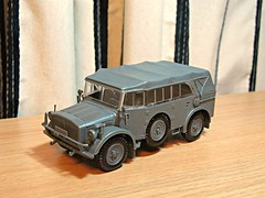 Horch 44 Type 1a (orangechallenger) Tags: auto model military union models kit tamiya audi