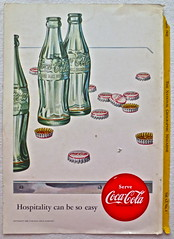 1952 - 1950s Vintage Coca Cola Advertisement From National Geographic Back Page 49 (Christian Montone) Tags: vintage ads advertising coke americana soda cocacola advertisements sodapop vintageads vintageadvert