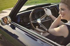"1970 Chevelle With Kay • <a style=""font-size:0.8em;"" href=""http://www.flickr.com/photos/85572005@N00/8858019559/"" target=""_blank"">View on Flickr</a>"