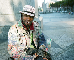 fitters (Terry Barentsen) Tags: california street portrait mamiya film san francisco fuji 7 400h 2013