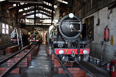 On shed (DH73.) Tags: new shed engine romney rhdr