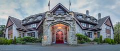Government House Foyer (Cameron Knowlton) Tags: panorama canada stone architecture nikon arch bc panoramas victoria panoramic architectural government d600