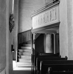 (case-ie) Tags: film church mediumformat blackwhite interior baroque romanesque unalterednegativescan