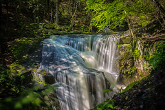 Flowing (Larry White (Trying_to_Shine)) Tags: longexposure waterfall connecticut nd 2470mm28l canon5dmiii