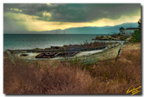 """Long term"" sea - land relationships ... HDR + orton effect"