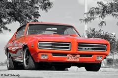 1969 Pontiac GTO Judge (scott597) Tags: ohio orange 1969 center judge pontiac gto dayton nutter poci covention gtoaa