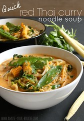 Quick red Thai curry noodle soup 5 (amuse_your_bouche) Tags: food cooking recipe soup blog vegan curry thai vegetarian quick