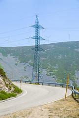 Spain_Bike trip_156 (jjay69) Tags: road windmill spain europe bend north electricity northernspain pilon spanishmainland