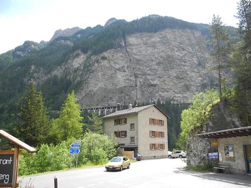 Paßstraße nach Samnaun