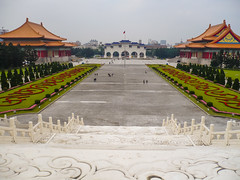 View from Chiang Kai-Shek Memorial (zot0 (Mike K)) Tags: day cloudy taiwan december2008 panasonicdmcfx12