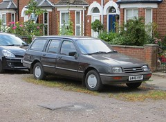 1983 Ford Sierra 1.6L Estate 'Dangly Mirrors' Update! (Spottedlaurel) Tags: ford sierra danglymirrors