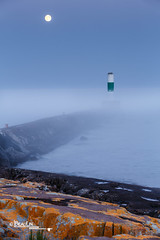 Misty Breakwater (Images by Beaulin) Tags: minnesota landscape northshore grandmarais grandmaraisharbor