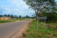 20130826-DSC_1292 (jbdodane) Tags: africa road bicycle sign cycling velo ctedivoire cotedivoire ivorycoast cyclotourisme day296 cycletouring freewheelycom