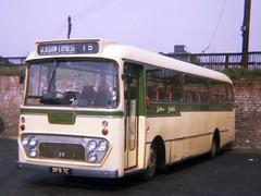 0141 19710502 SOL DFS 7C (CWG43) Tags: uk bus alexander viking albion easternscottish highlandomnibuses scottishomnibuses vk43l dfs7c yk7