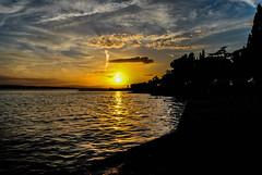 Crikvenica (DubeFranz) Tags: sunset croatia hrvatska kvarner crikvenicasunset crikvenicabeach