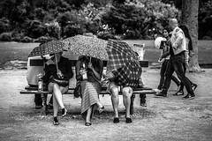 Inside of Paris (SungsooLee.com) Tags: park street leica trip travel people blackandwhite bw paris france tower umbrella 50mm blackwhite candid eiffel apo summicron journey asph f20 mydays m9p mydaysphoto