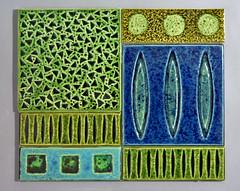 Malkin tiles by Kenneth Clark (robmcrorie) Tags: kitchen wall tile ceramic bathroom design pot trent 1950s clark pottery british 1960s 1970s staffordshire stoke kenneth malkin ercol