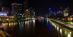 Yarra River panorama (Chi (in Oz)) Tags: panorama pano australia melbourne southbank flindersstreetstation yarrariver