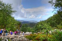 The Pulpit Rock, Preikestollen Trail (nebulous 1) Tags: trek nikon walk rocky hike trail pulpitrock preikestollen d7000 nebulous1 vision:mountain=084
