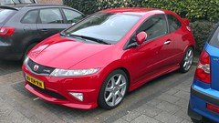 Honda Civic Type R (sjoerd.wijsman) Tags: auto red holland cars netherlands car honda nederland thenetherlands voiture vehicle holanda civic autos rood paysbas olanda fahrzeug typer niederlande hondacivic zuidholland pijnacker carspotting redcars hcar hondacivictyper carspot sidecode6 81xnrn