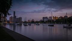 Brisbane Timelapse (Sam Petherbridge) Tags: life city sunset water clouds sunrise timelapse nikon australia brisbane queensland d7100 sampetherbridge