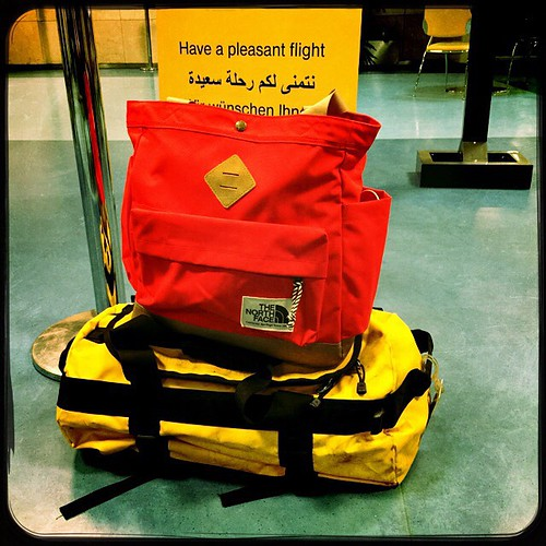 #HaveAPleasantFlight #Bags #Travel #TheNorthFace