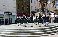 Galloway Pipe Band at The Midsteeple Dumfries (stonetemplepilot5) Tags: sony dumfries a6000 midsteeple