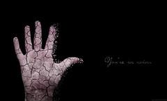 #13. You're in ruins. (palaabrasusadas...) Tags: broken statue photoshop dark photography luces ruins pieces hand dismal skin 21 body finger ruinas mano guns montaje conceptual fragile estatua sombras greenday dedo cuerpo frgil oscuridad fotografa piel retoque fragility desaturacin ttrico desintegracin desintegrar