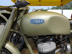Ferrari Turismo 1953 125cc 2 Stroke (Michel 67) Tags: classic vintage motorbike antigua antiguas moto motorcycle asi ancienne motocicleta motorrad vecchia motocicletta motocyclette clasica vecchie motoshow clasicas motociclette motociclete classik motocyklar motocicletti