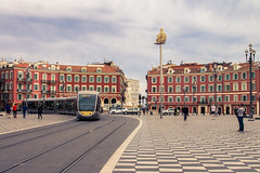 IMG_0817-1-2, Place Massna, Nice (Design_Ex) Tags: road city red sky france clouds rouge nice afternoon place south centre may paca route mai ciel promenade fontaine tramway ville centreville sud vieille alpesmaritimes 2015 paillon massna fontainedusoleil
