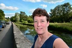 166 2015 Bibury, on the way home from Bath (Margaret Stranks) Tags: uk wall stream gloucestershire bibury 2015 365days 166365