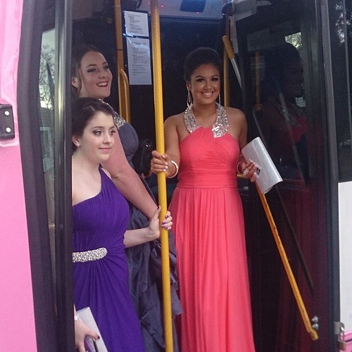 Girls, looking forward to dressing up? Time to book your school formal bus with us on 04 500 600 55.