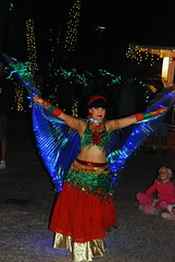 HolidayDancers-0019 (awinner) Tags: 2013 bellydancing dancer december18th2013 december2013 fairywings floridabotanicalgardens largoflorida lightedfairywings