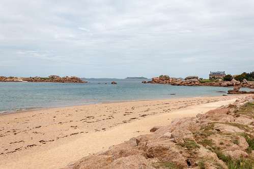 L'Île Renote à Trégastel