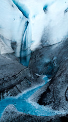 Inside Canyon Walls (friendak12) Tags: iceland vatnajokullnationalpark vatnajokull glacier glaciercanyon glacierwalk breiamerkurjkull adventure ice blue water waterfall explore magic color outdoors sony sonya77 snow canyon travel travelphotography