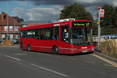 Route 117, Metroline, DM965, LK58CRX (Jack Marian) Tags: route117 metroline dm965 lk58crx alexander alexanderdennis dennis alexanderdennisenviro200dart enviro e200 enviro200 mcv mcvevolution evolution staines westmiddlesexhospital buses bus london rareworking