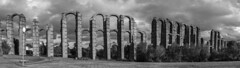 Acueducto de los Milagros (panormica) (Marmotuca) Tags: extremadura mrida emeritaaugusta provinciadebadajoz acueducto acueductodelosmilagros arquitectura imperioromano agua hidrulica patrimoniodelahumanidad