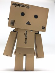 Im watching you ...yes....you :-) (missesined) Tags: danbo danboard amazon revoltech