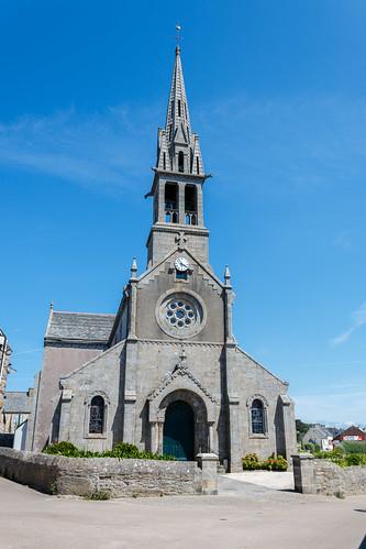 Église sur l'Île de Batz