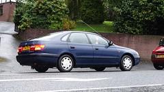 1996 Toyota Carina E Gs (>Tiarnn 21<) Tags: toyota carina navy rare uk