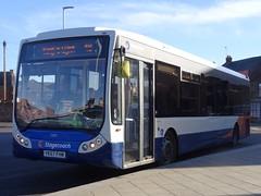 King's Lynn (Andrew Stopford) Tags: yk57fhm optare tempo stagecoach kingslynn norfolkgreen gowesttravelltd