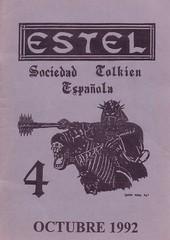 Sociedad_Tolkien_Espanola_Revista_Estel_04_portada (Sociedad Tolkien Espaola (STE)) Tags: ste estel revista tolkien esdla lotr