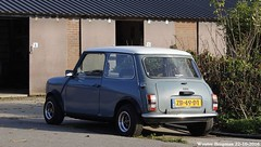 Mini 1000 E 1990 (XBXG) Tags: zb49dt mini 1000 e 1990 1000e woerden nederland holland netherlands paysbas vintage old classic british car auto automobile voiture ancienne anglaise uk engeland england
