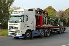 Pearce, Wanstrow KU57 JVX, Volvo FH in Cheltenham (majorcatransport) Tags: somersthaulage pearcewanstrow cheltenham maritimetransport volvo volvofh2